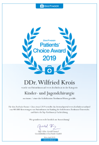 Docfinder's Patient Choice Award 2019
